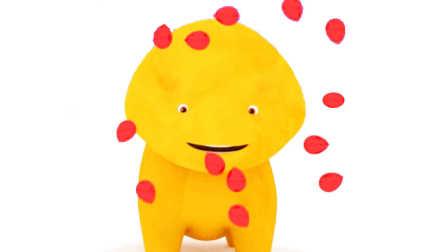 恐龙戴诺 第14集 和气球一起学习颜色
