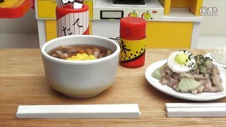 荞麦面和炒乌冬-日本食玩-万代迷你厨房 020