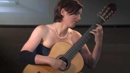 古典吉他美女独奏 巴赫 名曲 赋格Fugue 998