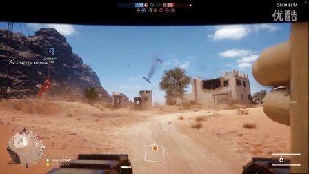 《战地1》小坦克好特么逆天!爱上坦克了...当贝塔好欢乐...