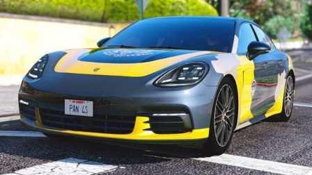 《GTA5》汽车mod #151保时捷 Panamera 4s 2017【我是跑车,不是轿跑】