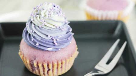 CCMissY烘焙:低脂紫薯纸杯蛋糕