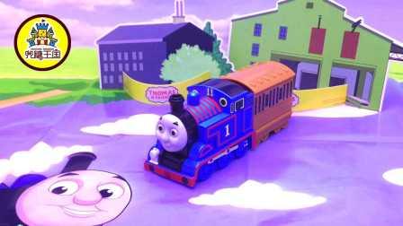 托马斯欢乐小火车儿童拼装过家家益智贴贴乐