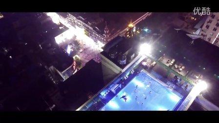 《武汉去哪儿》武汉唯一天台泳池party
