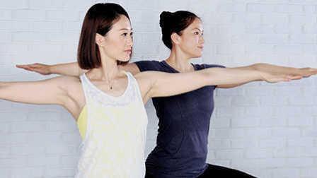 FitTime瑜伽体式-战士二式