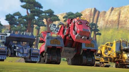 恐龙卡车 卡车队长 恐龙公园 霸王龙 三角龙 剑龙 开始建造吧 11