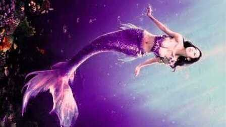 小美人鱼公主 美人鱼芭比公主 打扮美丽的人鱼公主 动画片