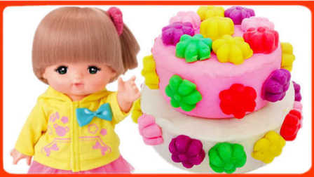 白雪玩具屋 2016 美味彩色花朵蛋糕
