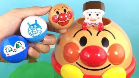 橙子乐园在日本 2016 面包超人滚球玩具