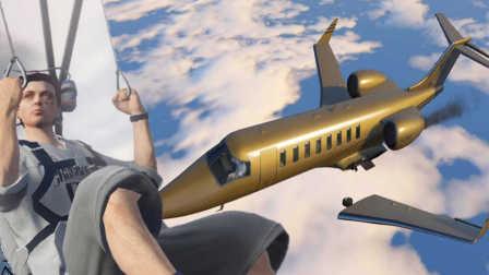 【屌德斯解说】 灵异事件飞机在空中翅膀断了 小熙煊煊小驴小源屌德斯