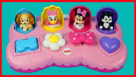 迪士尼米老鼠弹出玩具