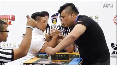 SAL超级腕力联盟 阿诺德赛 中国宋文思VS韩国大臂哥