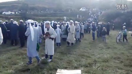 东乡族自治县考勒乡做古尔邦节