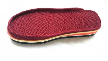 第一集钩织手工鞋鞋垫视频毛线拖鞋鞋垫的编织方法手工钩织毛线拖鞋鞋垫的编织视频织法图解视频教程