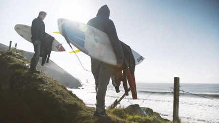 大西洋野性冲浪