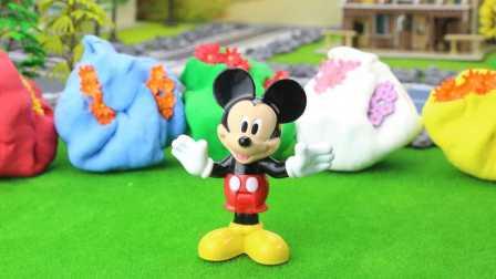 『奇趣箱』米奇妙妙屋玩具故事:米奇的好朋友失踪了,看看彩色橡皮泥里有什么?