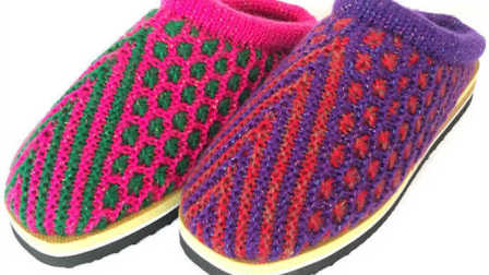第十七集 人字形太阳花教学视频手工毛线拖鞋编织视频 毛线拖鞋编织视频 生活视频在线播放