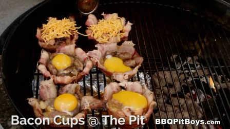#美国土豪BBQ# 培根肉碗 #BBQPitBoys# @Sofronio @BBQPitBoys BBQ Pit Boys