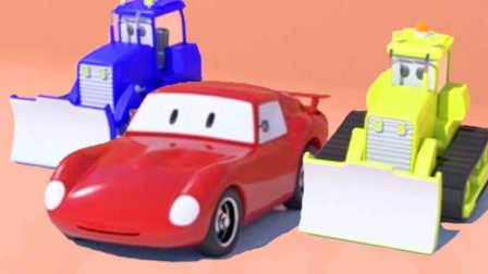 赛车斯彼得 第4集 推土车和赛车斯彼得