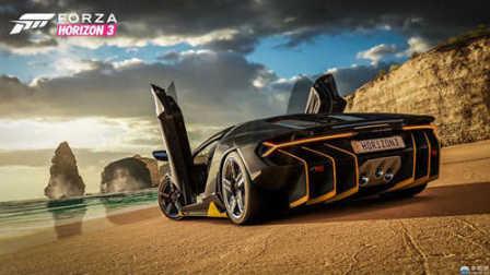 xboxone《极限竞速:地平线3》直播试玩版