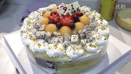 千层榴莲蛋糕