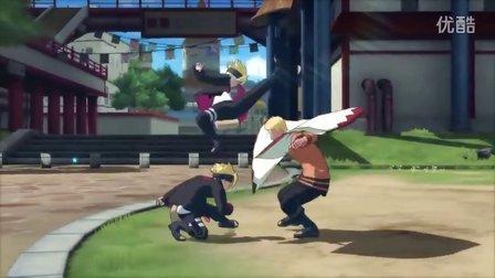 2016东京电玩展 究极忍者风暴4 博人之路 TGS2016宣传PV