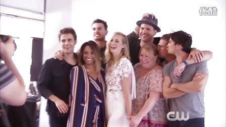 【Commedia】CW《吸血鬼日记》第八季(最终季)主演写真拍摄花絮