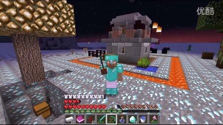 【灰哥】我的世界《钻石大陆》4:谁说只有岩浆下面,墓地爆炸