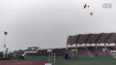 成都航空职业技术学院航模队对地侦察实验