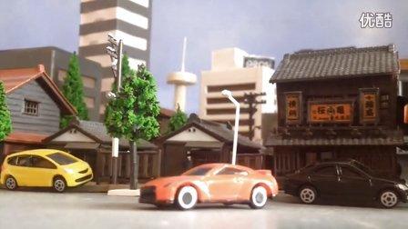 玩具版《极品飞车-疯狂的GTR》定格动画