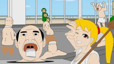 【小熙解说】逃出澡堂 模拟一个保洁小妹逃出澡堂!
