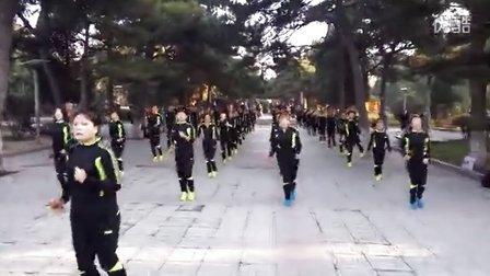 辽宁省阜新市人民公园快乐绳韵跳绳队