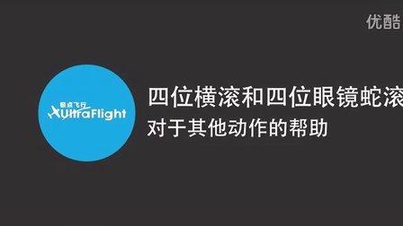 极点飞行航模3D固定翼教学:四位横滚和四位眼镜蛇滚