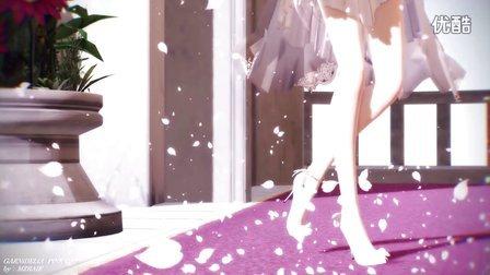 【优雅的MMD】二次元弱音新款婚纱却很伤感!
