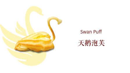 嫩食记——造型优雅的天鹅泡芙