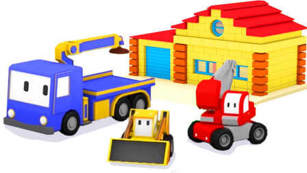 迷你卡车 第1集 建一座房子