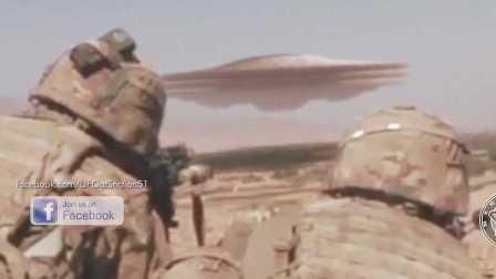 美军伊拉克遭遇UFO不明飞行物