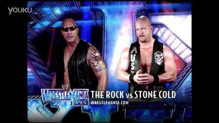 wrestlemania 28 WWE WrestleMania XIX The Rock vs. Stone Cold Austin