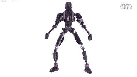 [鉴赏]LEGO 乐高 75120 星球大战 人偶LEGO Star Wars K-2SO buildable