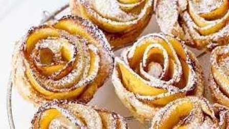 油桃玫瑰蛋糕卷