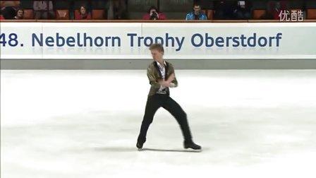 Alexander PETROV Nebelhorn Trophy 2016. Men - LP