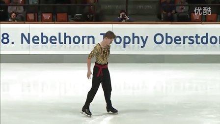 Alexander PETROV Nebelhorn Trophy 2016. Men - SP
