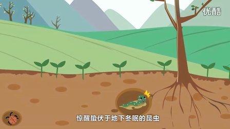 豆宝动画系列之二十四节气:惊蛰