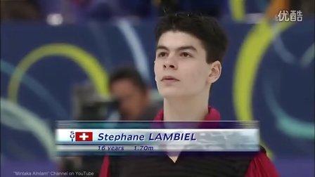 Stéphane Lambiel - 2002 Worlds SP - Vuelvo Al Sur (Tango)