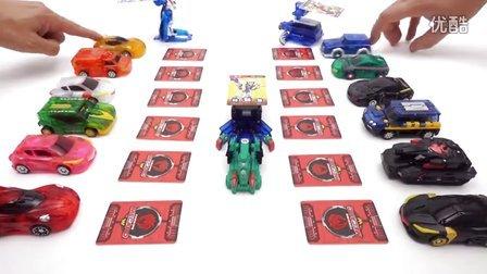 谈到新卡改造Tusko玩具车 Mecard TuskoTransforming Car Toy 新系列玩具的儿童 [迷你特工队之英雄的变形金刚]