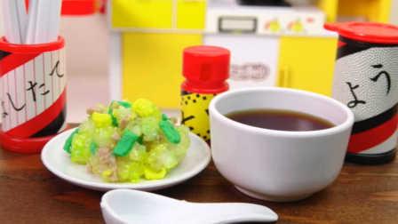 火腿鸡蛋炒饭-日本食玩-万代迷你厨房 059