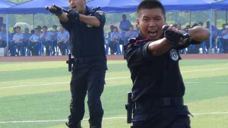 广西监狱特警警械技能大演练(完整版)