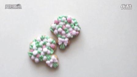 清新甜美的花束饼干 糖霜饼干制作教程 妞家烘焙
