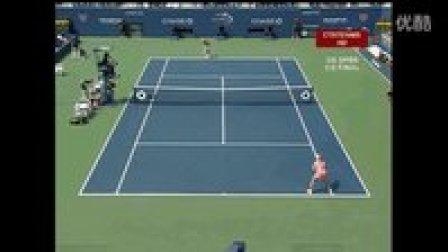 2007美国网球公开赛女单SF 库兹涅佐娃VS查克维塔泽 (自制HL)