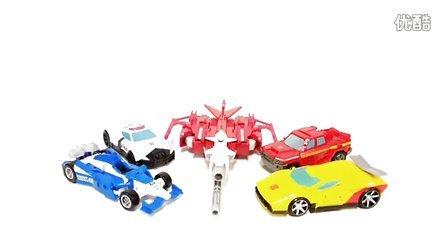 变形金刚机械战警2017 变形金刚代合战电子感应车辆改造相结合的机器人玩具车 汽车人装配 汽车人总动员我的世界新季度的新赛季 [迷你特工队之英雄的变形金刚]